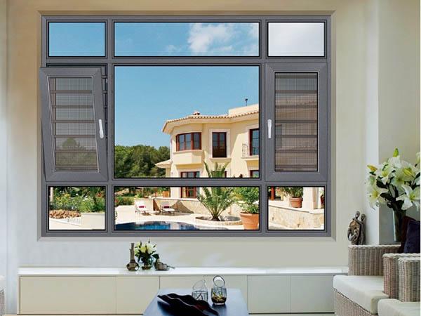70窗紗一體平開窗